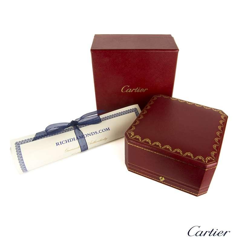 Cartier White Gold Caresse d'Orchidées Necklace